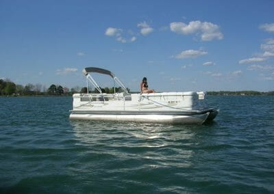 pontoon for rent